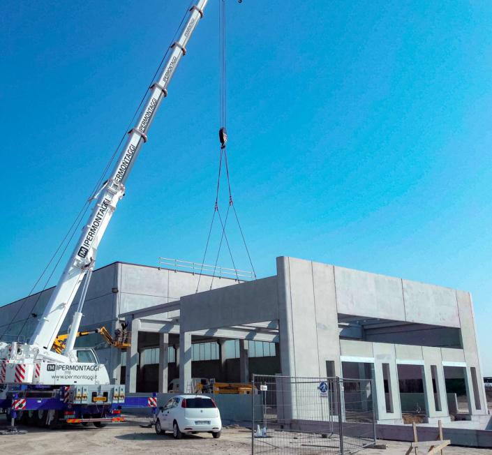 Nuovo centro logistico Dal Colle SpA - Belfiore VR