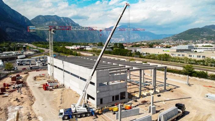 Arcese nuovo magazzino interporto di Trento