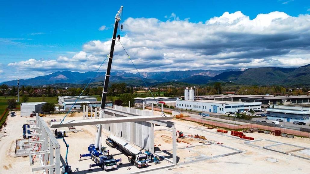 Tenimenti Civa - Nuovo stabilimento di Povoletto - Udine