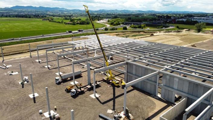 Despar - nuovo hub logistico a San Pietro Terme - Bologna
