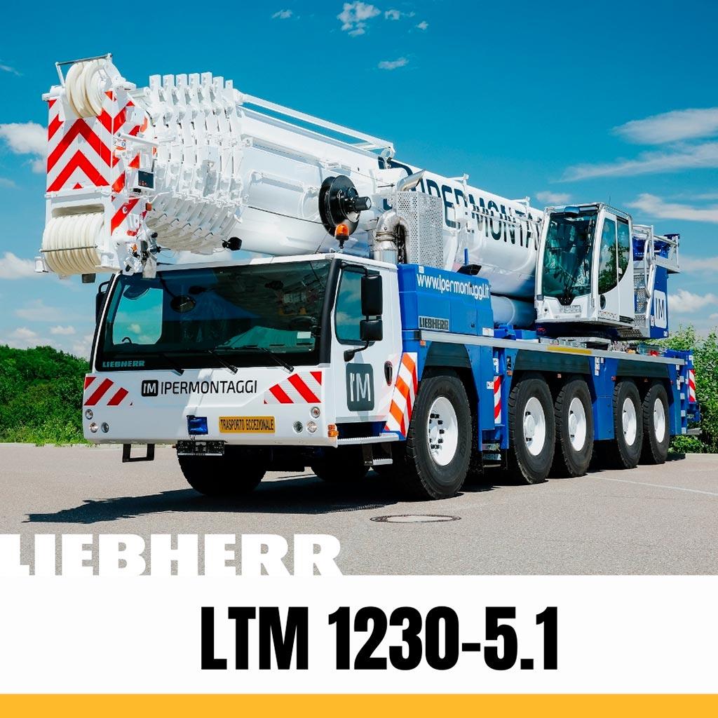 Liebherr LTM 1230-5.1 autogrù